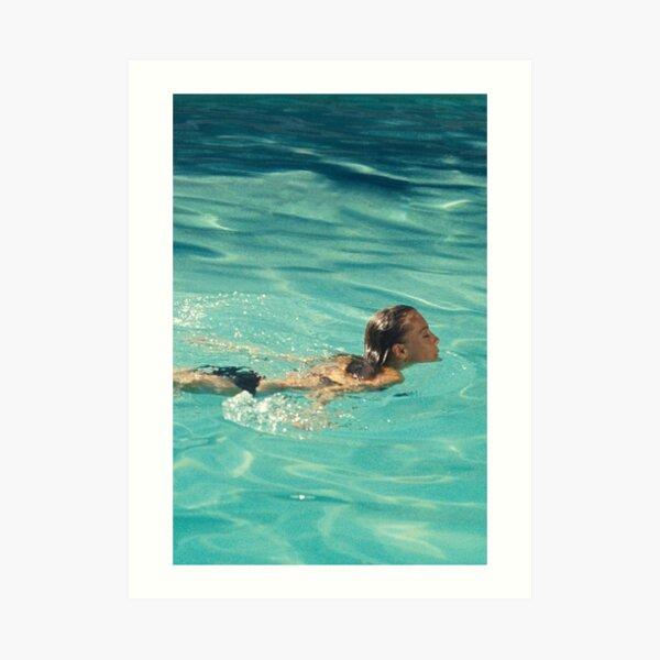 Pool Art Print
