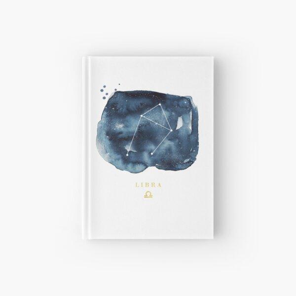 Libra Zodiac Constellation Hardcover Journal