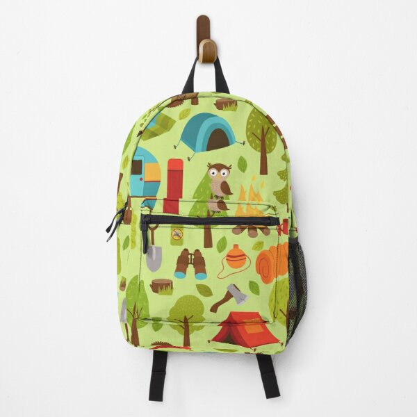 Traveling Camping Pattern Backpack