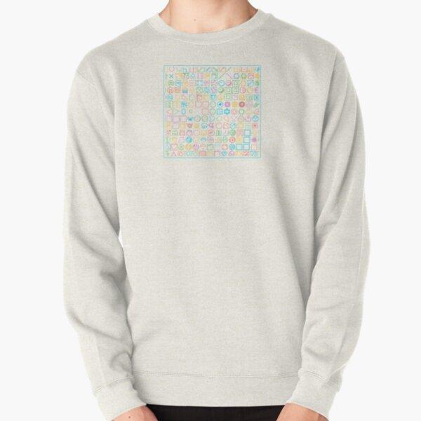 Puzzle Party Pullover Sweatshirt