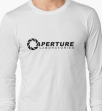 Portal 2: Aperture Science Logo Long Sleeve T-Shirt