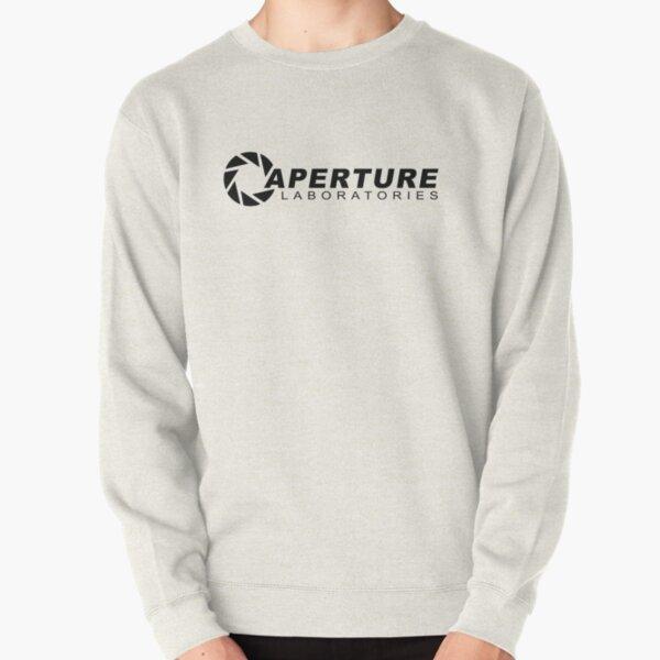 Aperture Laboratories science Innovators Logo sweat-shirt portail sweat pull
