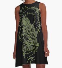 wisdom owl tattoo shirt A-Line Dress