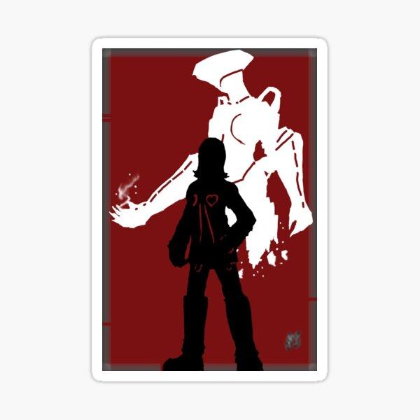I am Thou Series - Persona 2 Eternal Punishment - Maya Amano and Artemis Sticker
