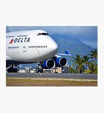 Boeing 747 Photographic Print