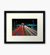 Peak Hour Traffic  Framed Print