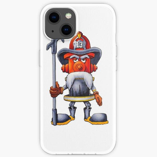Ol' Timer Firefighter iPhone Soft Case