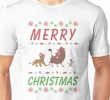Lion King Ugly Sweater - Merry Christmas Unisex T-Shirt