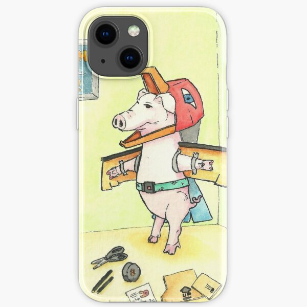 When Pigs Fly - Follow Your Dreams iPhone Soft Case