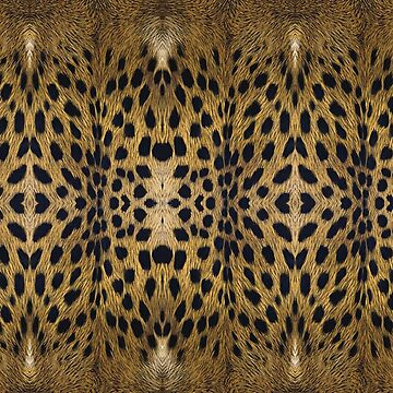 Brown Leopard Texture Pattern by pharostores