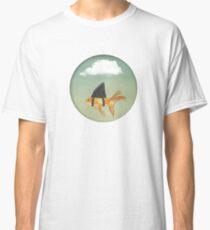 Under a Cloud, Goldfish with a Shark fin Classic T-Shirt