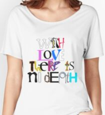 """With Love There Is No Death"" Women's Relaxed Fit T-Shirt"