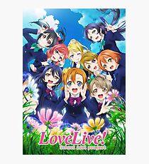 Love Live! Season 2 Poster Photographic Print