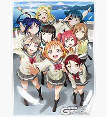 Love Live! Sunshine!! Poster Poster