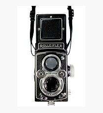 Vintage Rolleiflex Automat MX-EVS Model K4B Twin Lens Film Camera Photographic Print