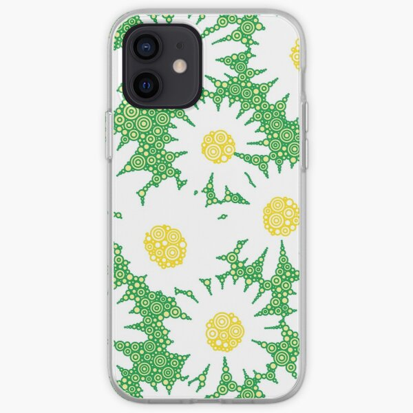 Oopsy Daisies A Pattern Of Repeating Daisies iPhone Soft Case