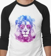 Tackle The Gazzle Says Mr. Lion Men's Baseball ¾ T-Shirt