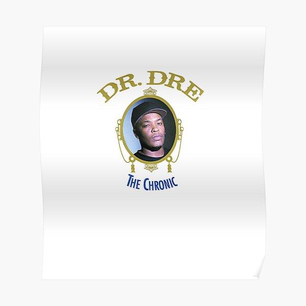 Dr Dre the chronic album cover Poster