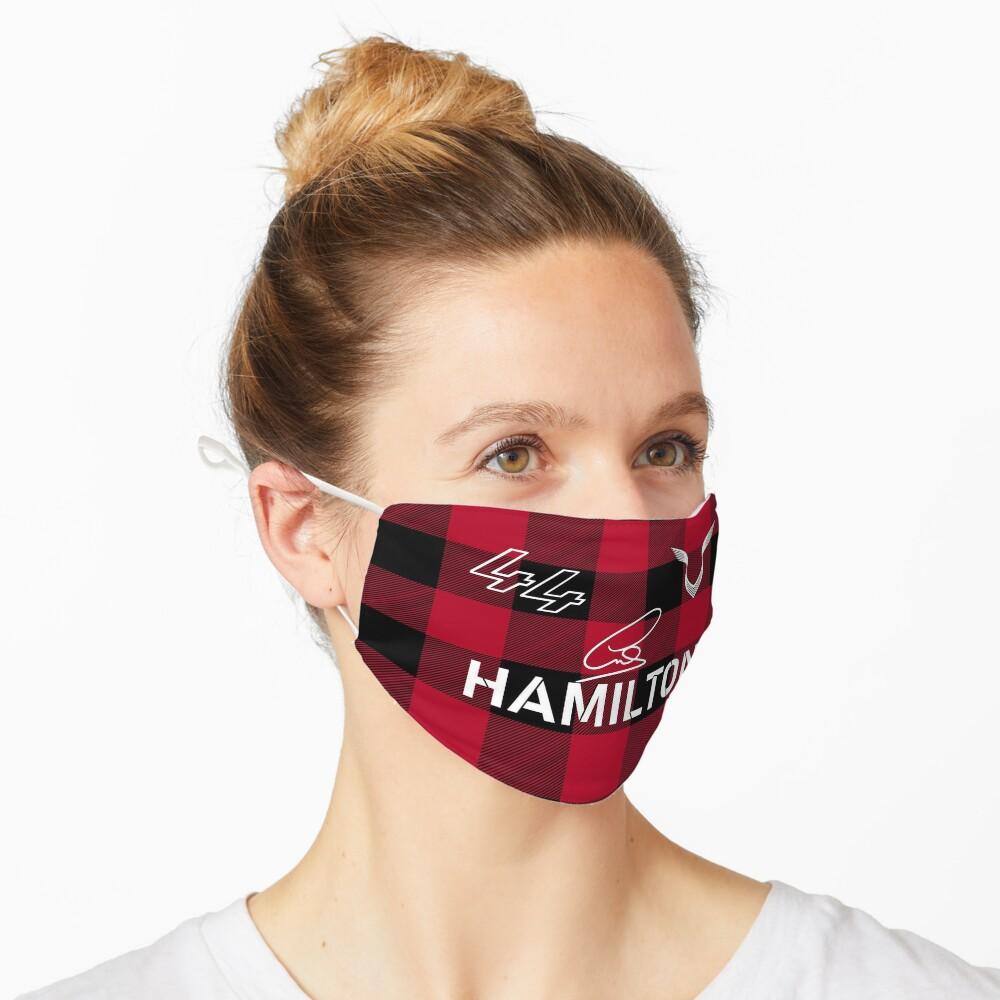 Masque «Lewis Hamilton Spécial Signé 2021»