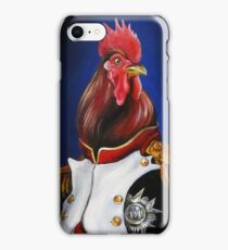 Rooster Napoleon iPhone Case/Skin