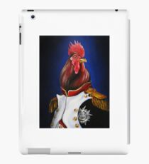 Rooster Napoleon iPad Case/Skin
