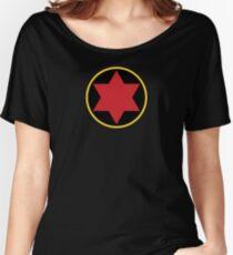 Black Widow Logo Redesign Women's Relaxed Fit T-Shirt