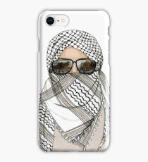 Woman in Keffiyeh iPhone Case/Skin