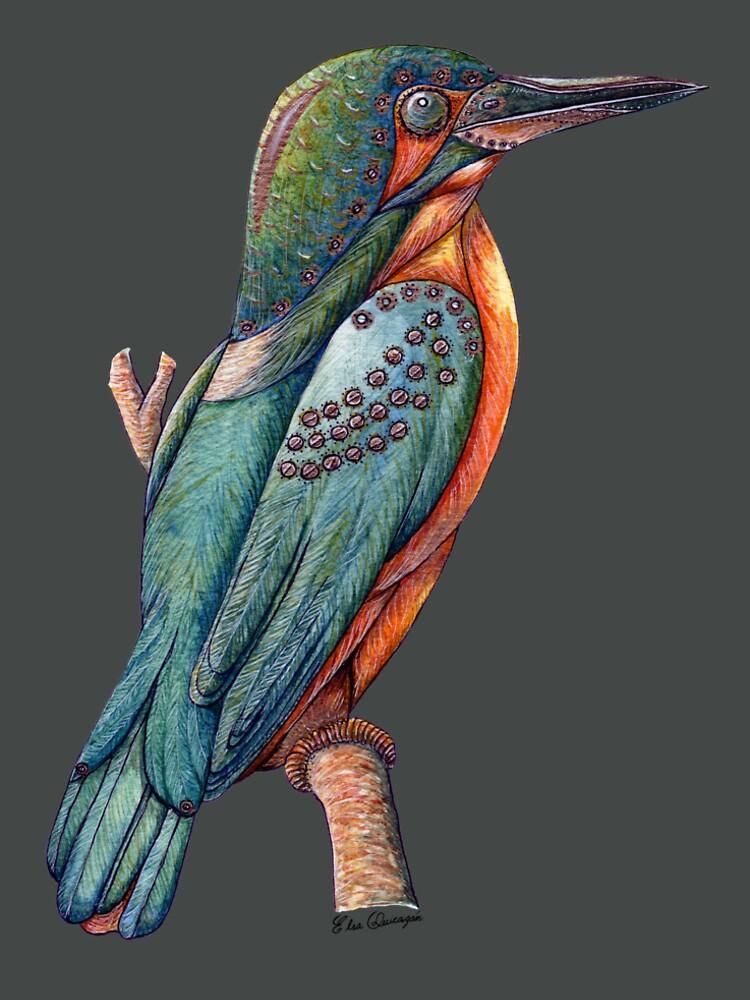 Kingfisher Bird by Bioinspirada