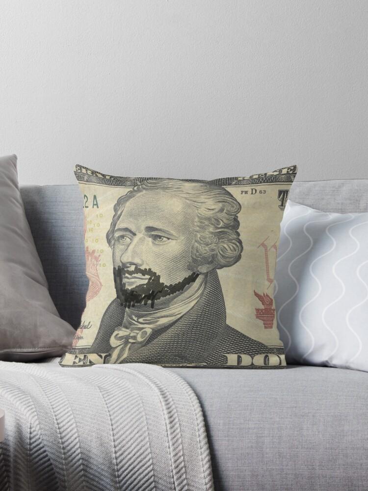 Lin-Manuel Miranda is Alexander Hamilton $10 Bill by izztoh