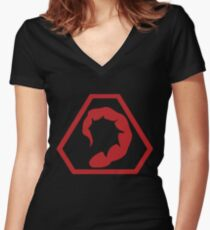Brotherhood of Nod Women's Fitted V-Neck T-Shirt