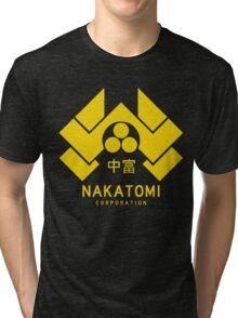 Nakatomi Corporation Tri-blend T-Shirt