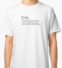 Stranger Things Friend Definition Classic T-Shirt