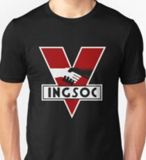 INGOSOC 1984 Slim Fit T-Shirt