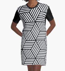 Isometric Graphic T-Shirt Dress