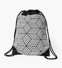 Isometric Drawstring Bag