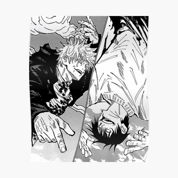 Gojo vs Toji   Jujutsu Kaisen Poster