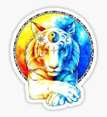 Zen Tiger Sticker