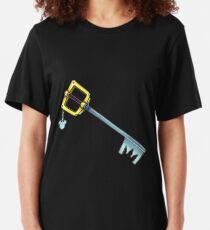 Kingdom Key - Kingdom Hearts Slim Fit T-Shirt