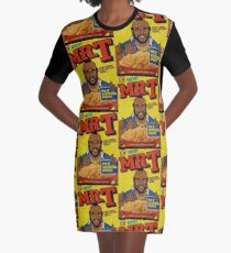 1980 Mr. T Cereal- original mosaic design cereal shaped.  Graphic T-Shirt Dress
