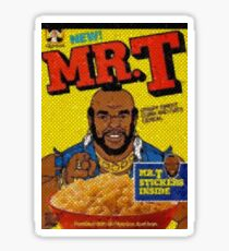 1980 Mr. T Cereal- original mosaic design cereal shaped.  Sticker