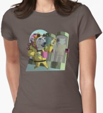 Peter Polar: Cryogenics Engineer Women's Fitted T-Shirt