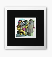 Peter Polar: Cryogenics Engineer Framed Print