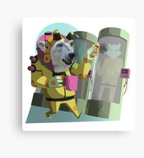 Peter Polar: Cryogenics Engineer Metal Print