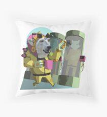 Peter Polar: Cryogenics Engineer Throw Pillow