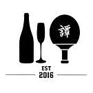 Champagne Pong - Est 2016 (Version I) by Dean Brown