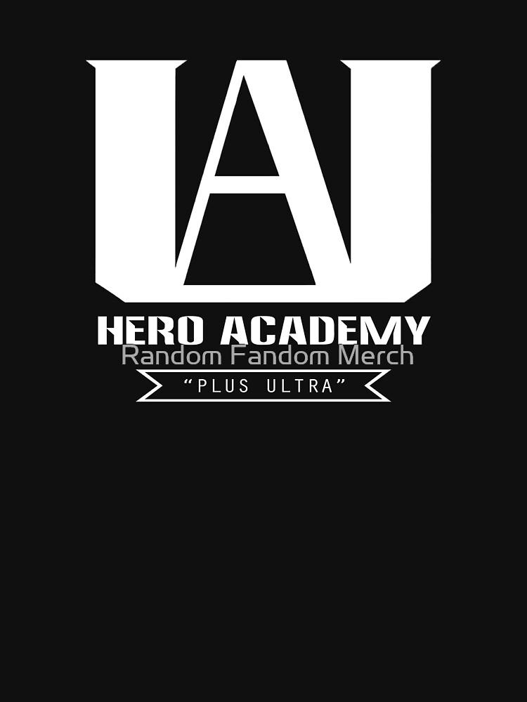 U.A. High Plus Ultra logo - (My Hero Academia, Boku no Hero Academia, BNHA) by RanFanMerch