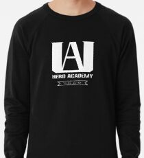U.A. High Plus Ultra logo - (My Hero Academia, Boku no Hero Academia, BNHA) Lightweight Sweatshirt