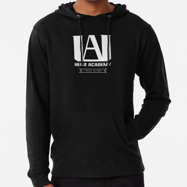 U.A. High Plus Ultra logo - (My Hero Academia, Boku no Hero Academia, BNHA) Lightweight Hoodie