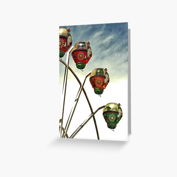 Neither Up Nor Down Greeting Card