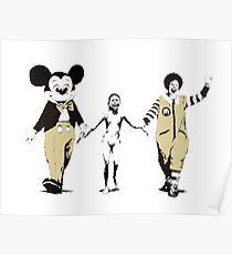 Banksy - Napalm Poster
